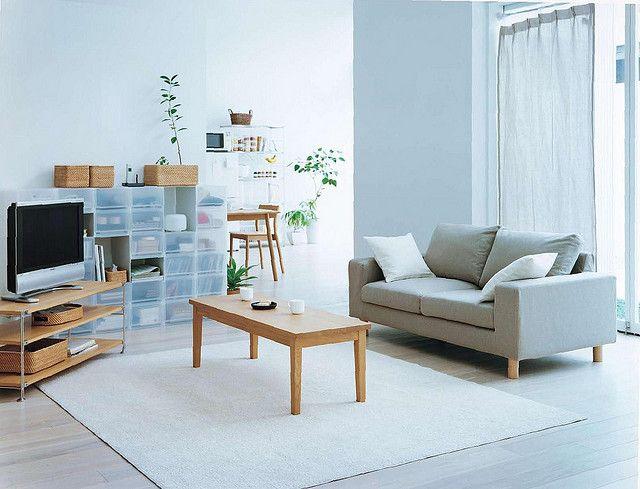 Woonkamer Van Muji : Newlife page dream home muji muji home living room