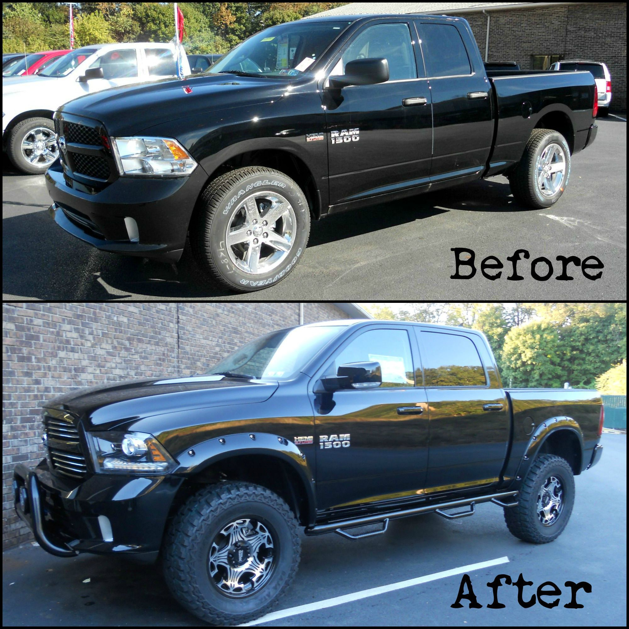 Lifted Ram Done At Outten Chrysler