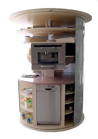 On the way to perfection, compact kitchen, convenient, user friendly