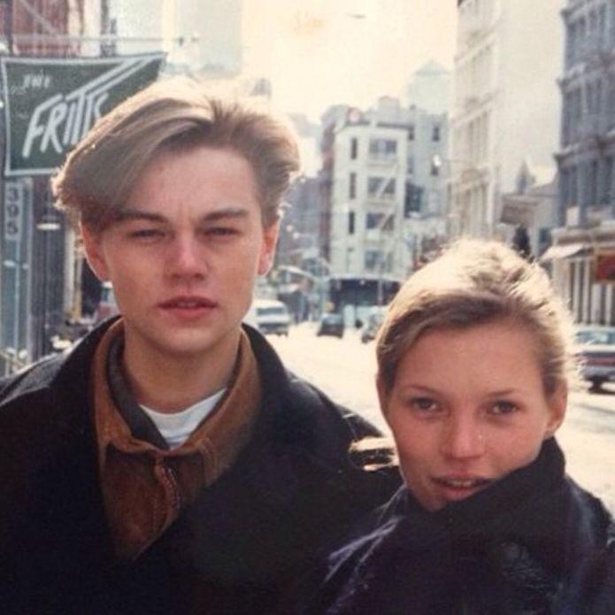 Young #LeonardoDiCaprio & #KateMoss