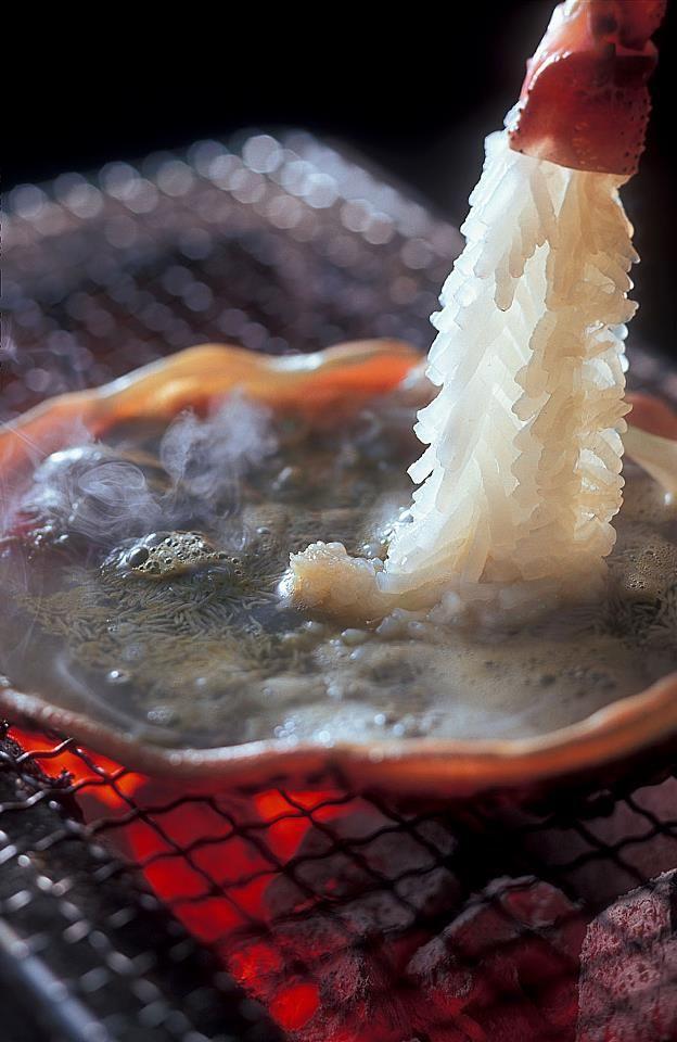 Crab shabu shabu