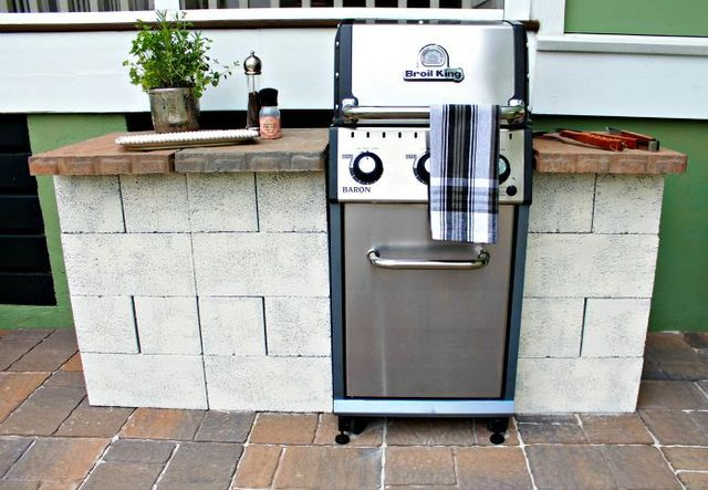 weekend diy – grill station (our fifth house)