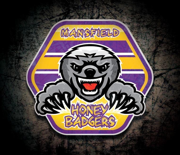 Mansfield Honey Badgers Sports Logo Design | Sports Logos
