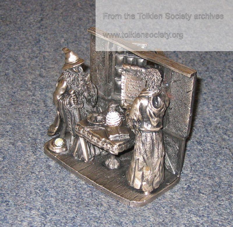 Elrond and Gandalf - Tudor Mint with swarovski crystal