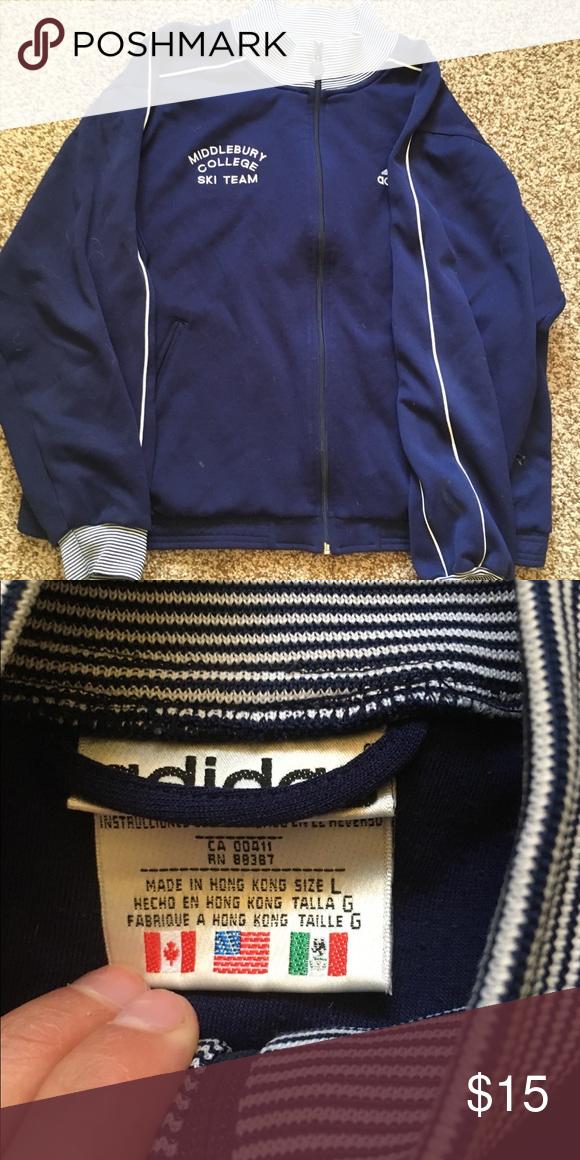 618e267772 Vintage 80s adidas sweatshirt Super cool vintage adidas sweatshirt from 80s.  adidas Shirts Sweatshirts   Hoodies