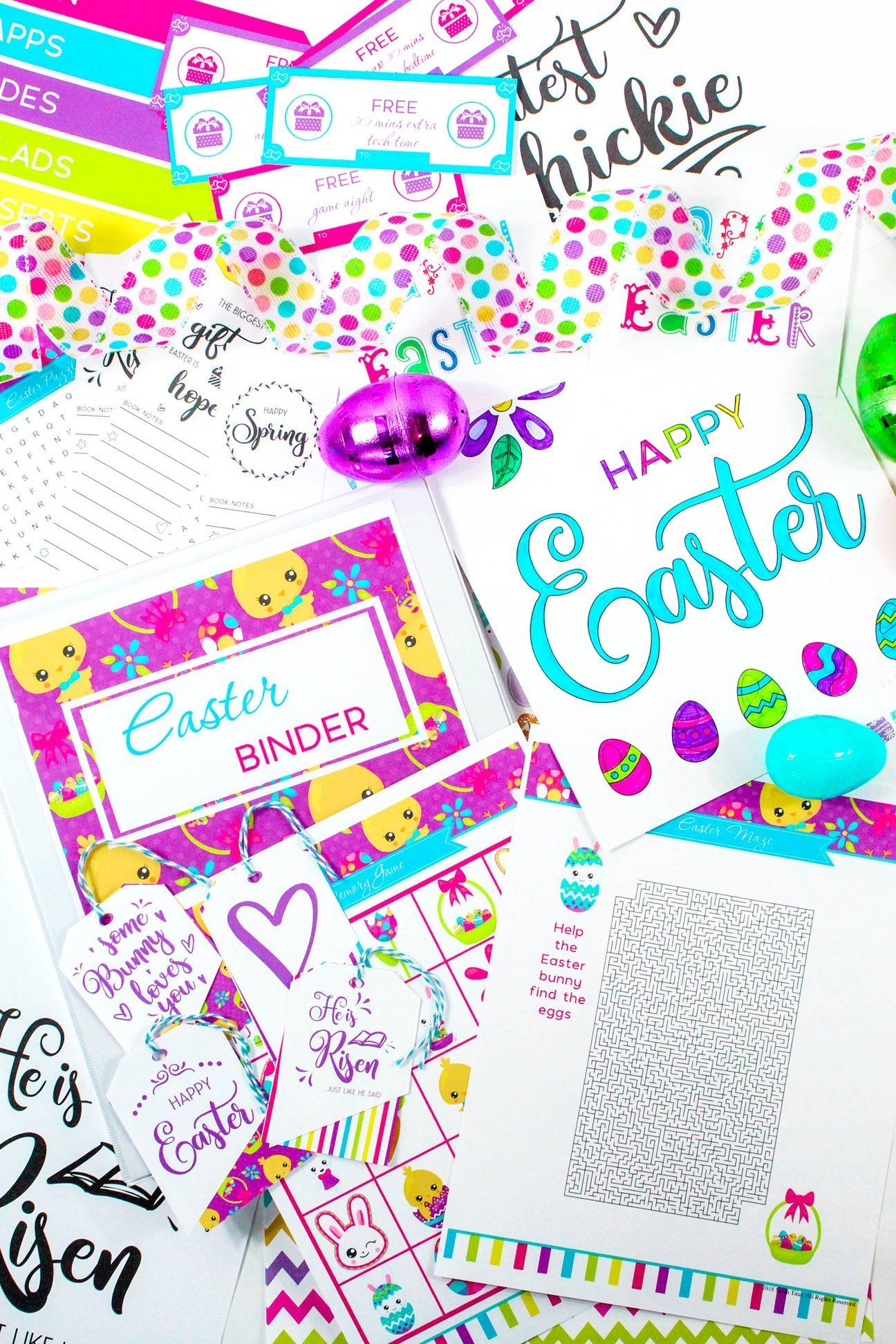 Free Easter Binder 100 Pages From Your Dinner Menu And