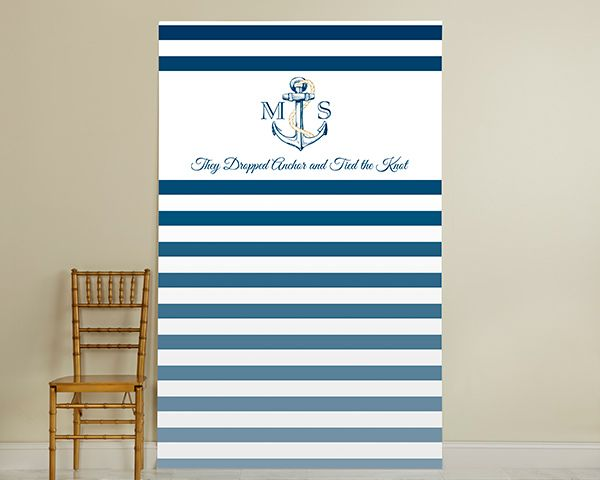 Personalized Photo Booth Backdrop