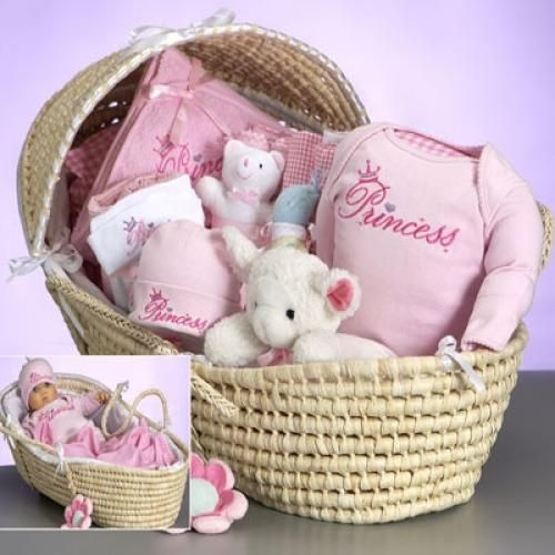 Moses Basket Deluxe (Princess)  - http://www.247babygifts.net/moses-basket-deluxe-princess-2/