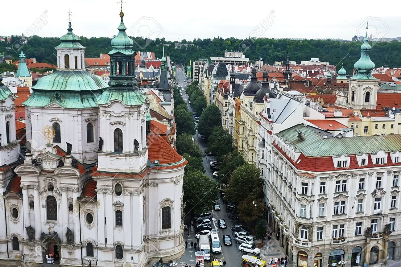 http://www.123rf.com/photo_34968359_top-view-of-the-church-of-st-nicholas-of-old-town-in-prague-czech-republic.html