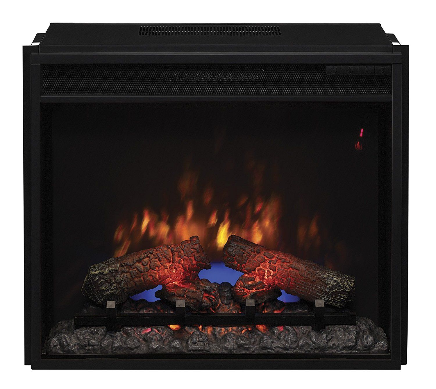 classicflame 23ef031grp 23 electric fireplace insert with safer