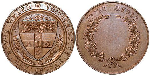 Sydney University Prize Medal | Australia New Zealand Oceania Palau