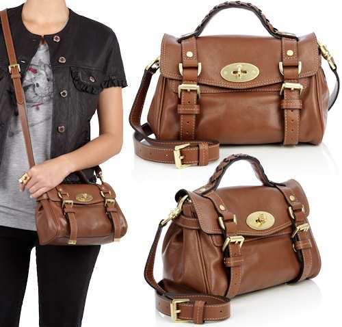 My dream perfect brown Mulberry Mini Alexa cross body bag.Not to big good  for shopping and everyday. 8484160e203ff