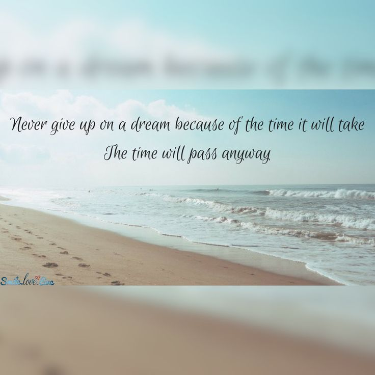 Giving Quotes Inspirational Quotes  Never Give Up On A Dream Because Of The Time .