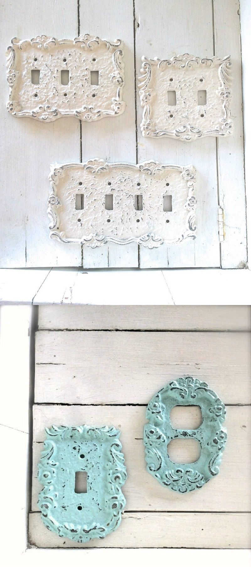 Add These Lovely Ornate Switch Plates To Your Home Shabby