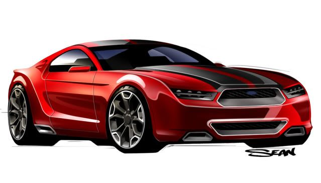 2015 Mustang Concept Vehicles for my Ultimate Garage