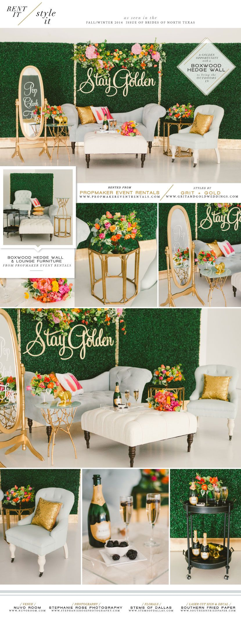 Zebra wedding decorations  Quirky and modern reception lounge decor from Propmaker Event