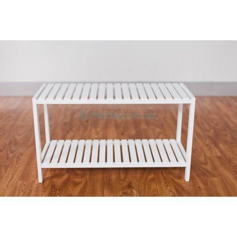 Mocka shoe rack/seat for mudroom or entrance way