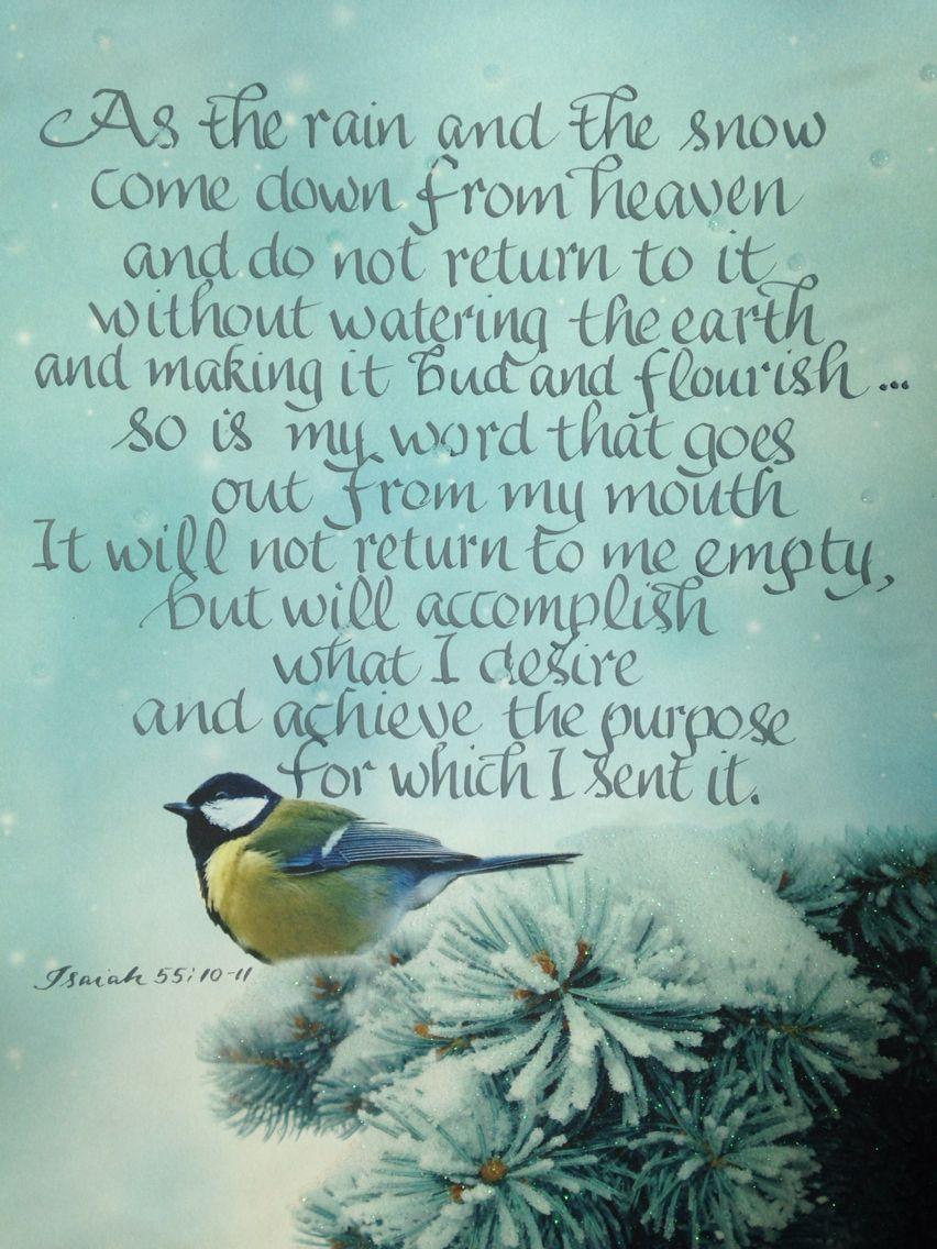 Bible Verse About Healing Rain