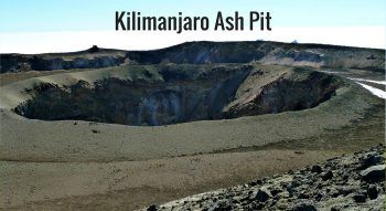 Kilimanjaro Ash Pit – The Centre of the Volcano
