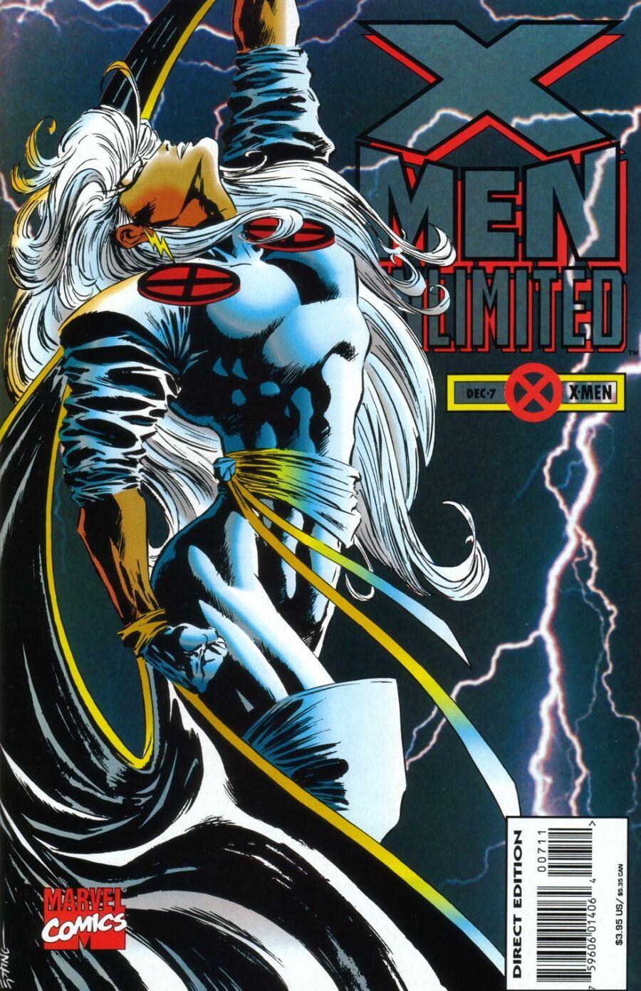 X Men Unlimited Vol 1 7 Comics X Men Female Superhero