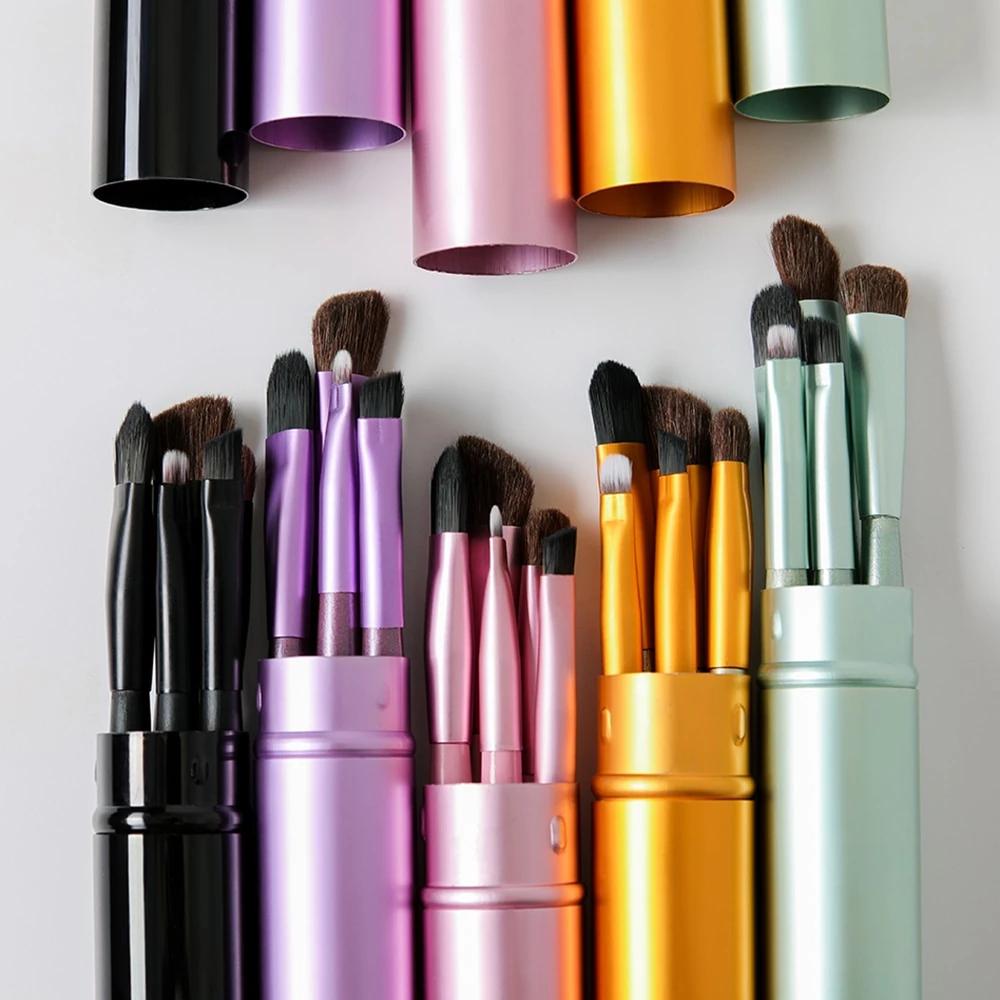 Photo of Portable Mini Professional Makeup Brush Set For Women