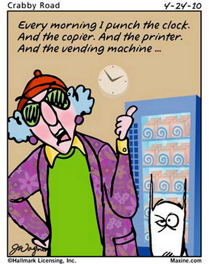 maxine cartoons | Chuck's Fun Page 2: Some mildly amusing Maxine cartoons