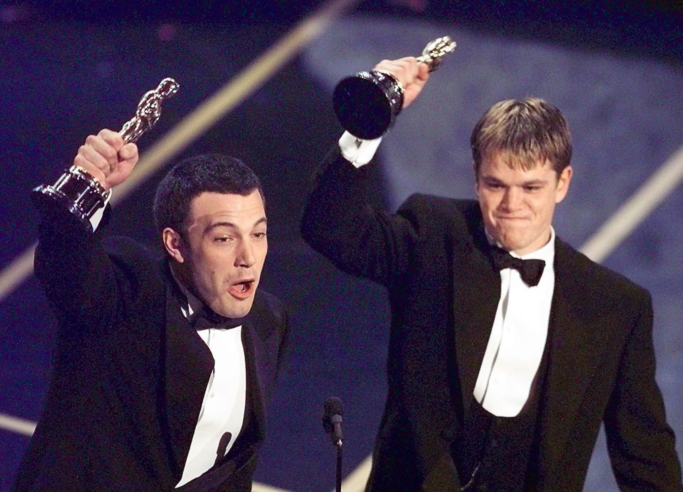 Memorable Oscar Moments Matt Damon Matt Damon Ben Affleck Good Will Hunting