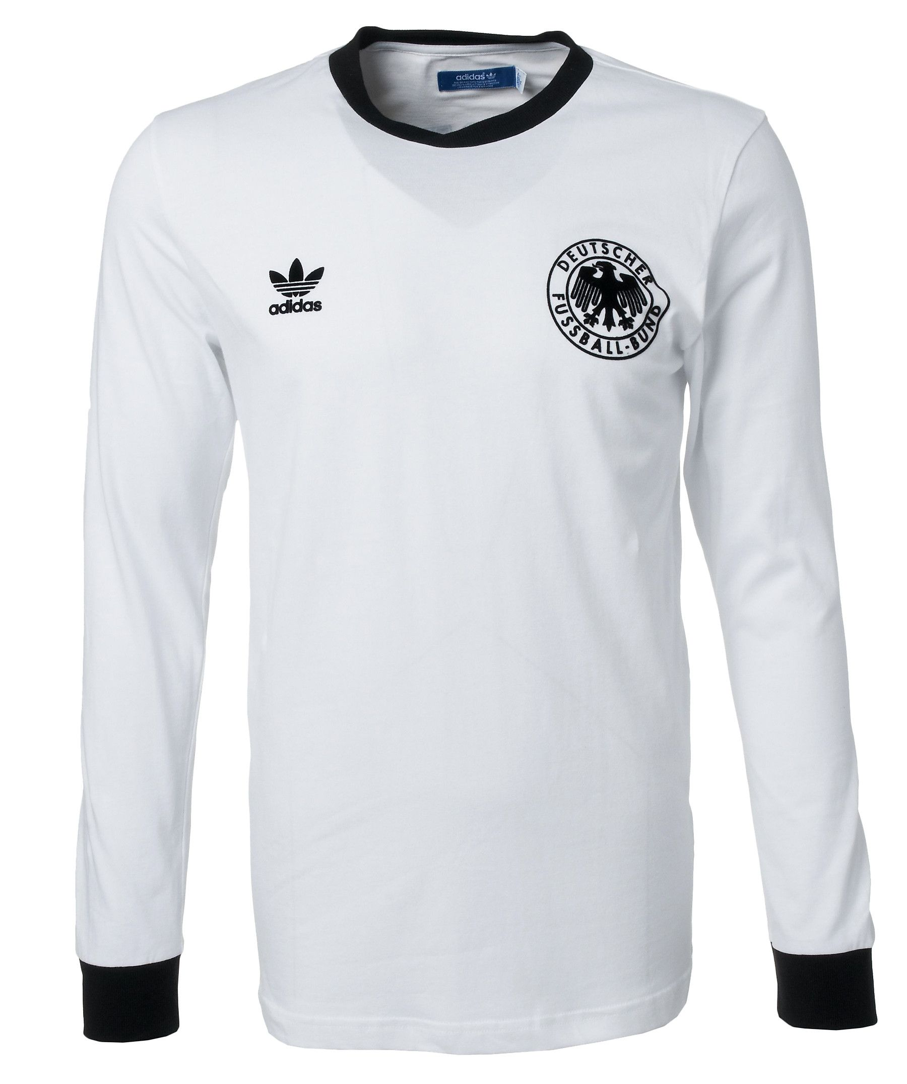 c11729f9b5 DFB Retro Longsleeve by adidas  soccer  training  game