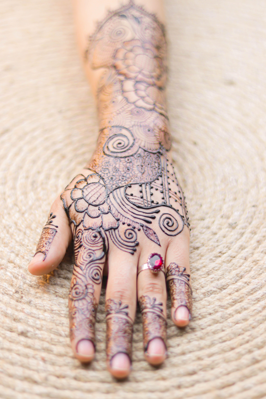 أجمل تصميم للحناء باليدوية رسمة بالحناء للمبتدئات مع تصميم بسيط و انيق الحناء الباكستانية Henna Hand Tattoo Hand Tattoos Hand Henna