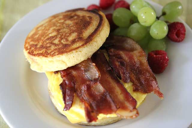 Homemade McDonalds McGriddles - Hilah Cooking