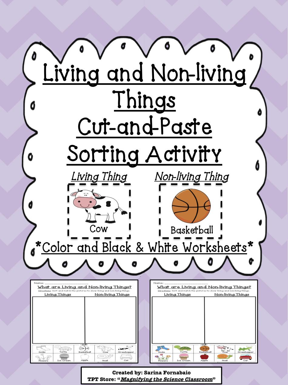 worksheet. Free Living And Nonliving Worksheets. Carlos Lomas ...