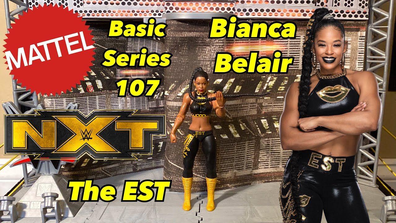 WWE Mattel Bianca Belair Series 107 Basic Figure