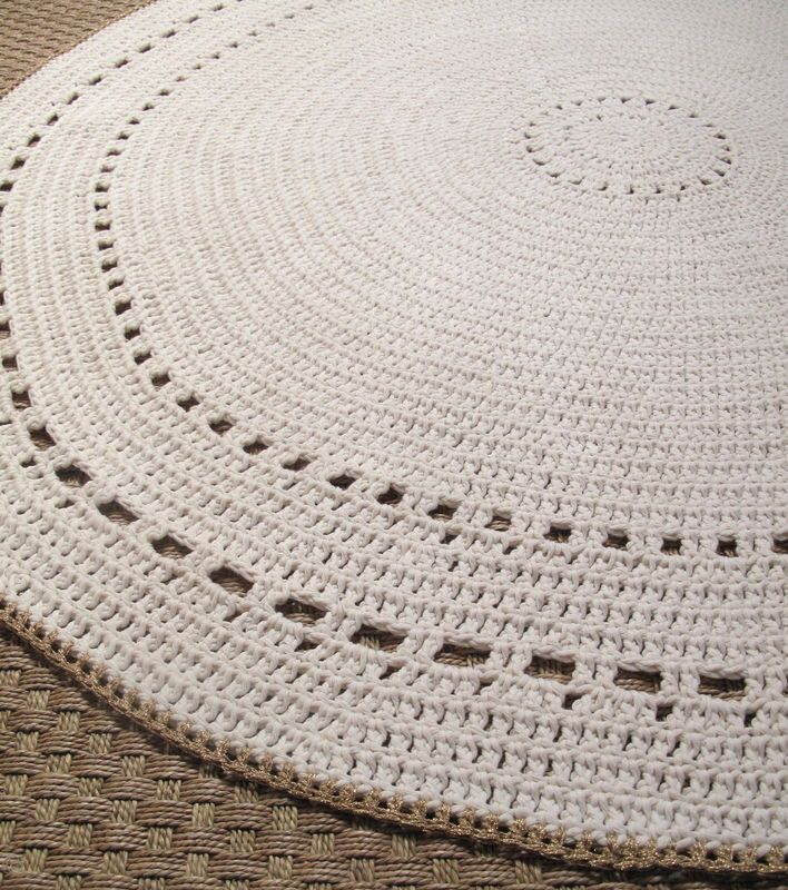 Tapis au crochet par petite pimprenelle - Modele tapis crochet gratuit ...