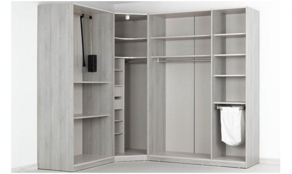 dressing d 39 angle solano l 250 x l 200 x h 240 x p 58 cm. Black Bedroom Furniture Sets. Home Design Ideas