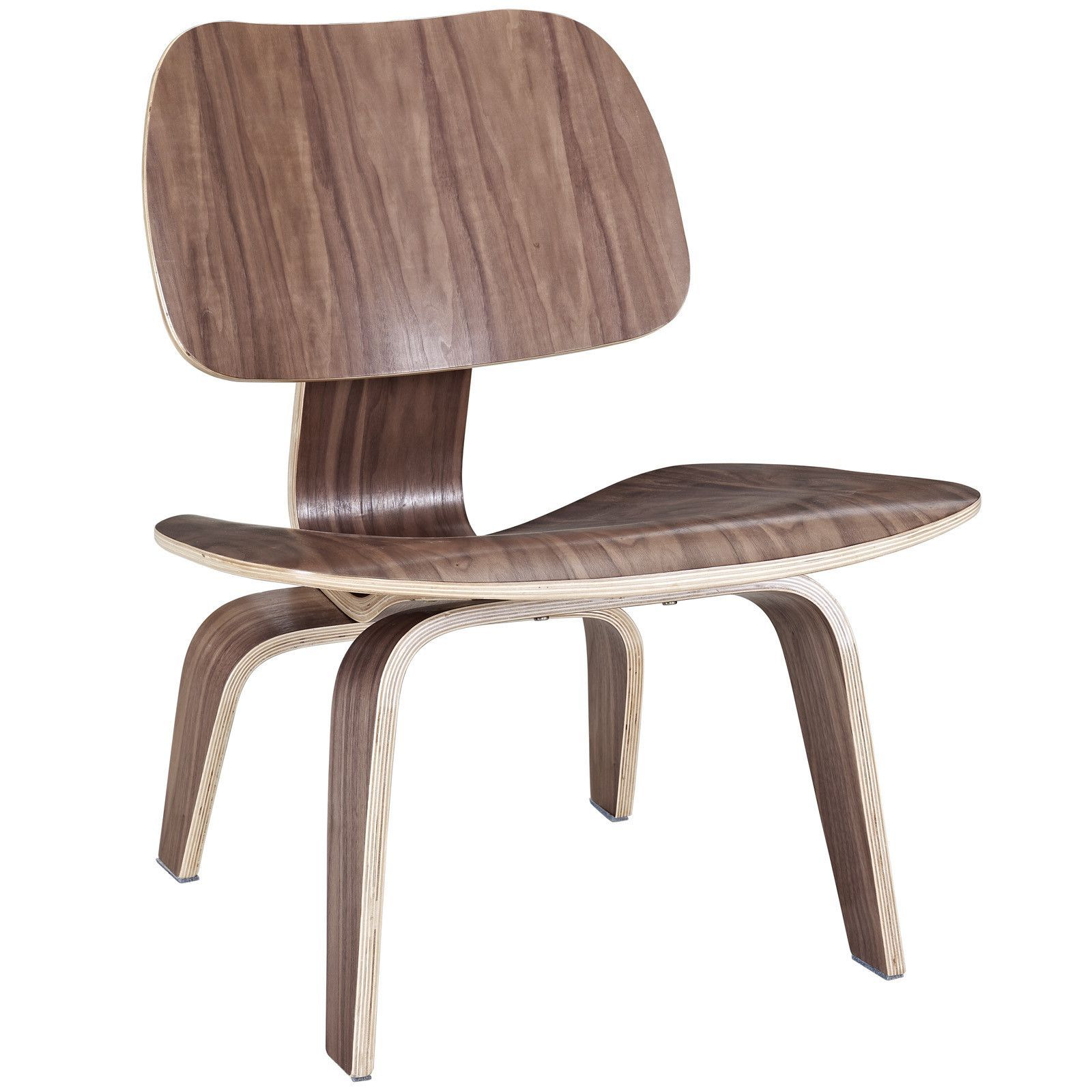 Bent Plywood Chair Eames - Eames inspired molded plywood lounge chair