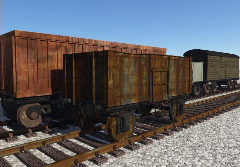 Pin by YUR digital on 3D Models | New trucks, Truck boxes, Model trains