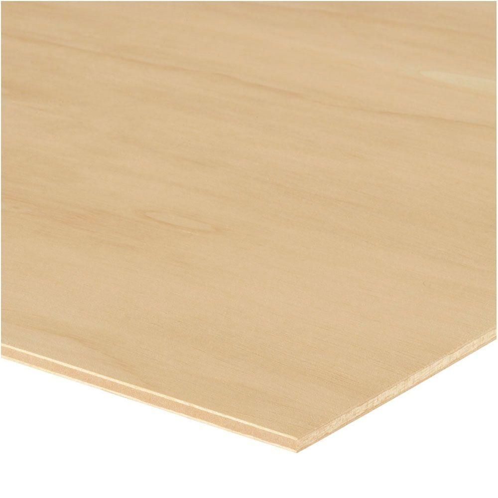 Sande Plywood Common 1 4 In X 4 Ft X 8 Ft Actual 0 205 In X 48 In X 96 In 479023 The Home Depot Hardwood Plywood Plywood Wall Paneling Plywood