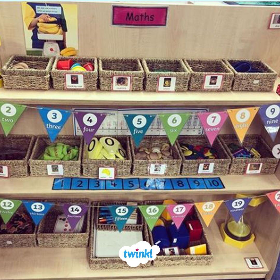Lovely Organised And Interactive Maths Area Perfect For