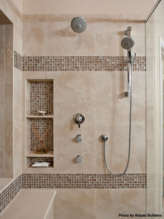 10 Affordable Ideas That Will Turn Your Small Bathroom Into A Spa Master Bathroom Shower Small Bathroom Remodel Shower Remodel