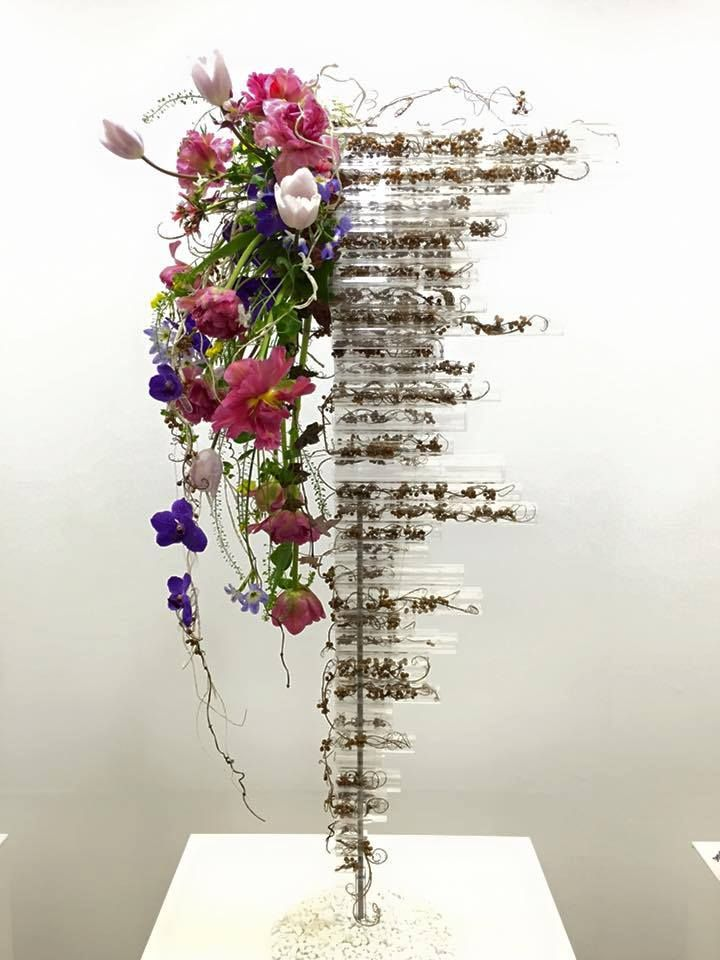 Test tubes?! South African Flower Union FB post: Japan Flower Design ...