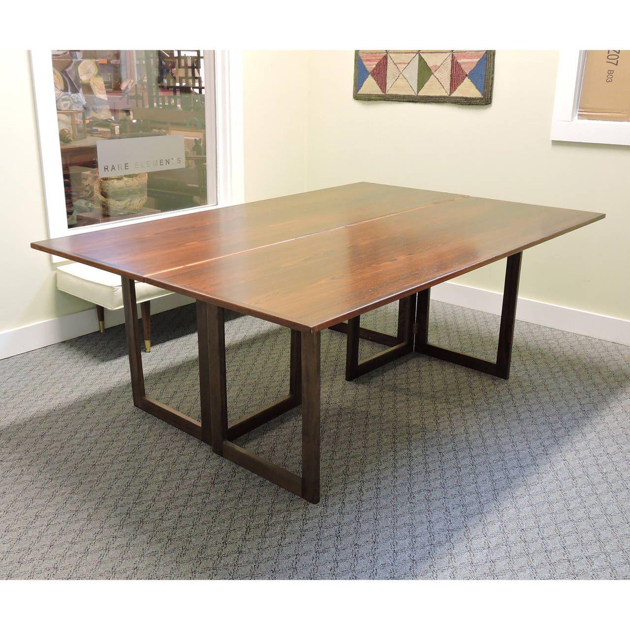 mid century modern kitchen table. Mid-Century Modern Skovmand \u0026 Andersen For Moreddi Rosewood Dining Table | From A Unique Mid Century Kitchen G