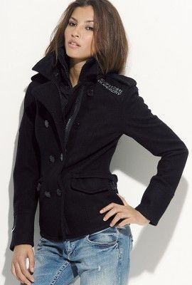 Classic Superdry for Superdry Classic PeacoatSuperdryCoatClothes women PeacoatSuperdryCoatClothes iuOkTPZX