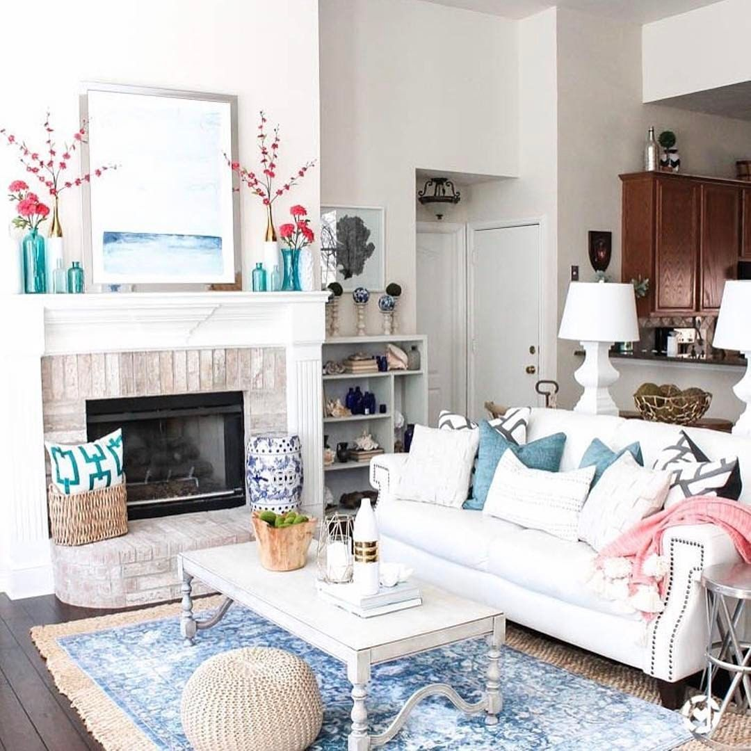Make your space summery! | Living spaces, Dream decor ...