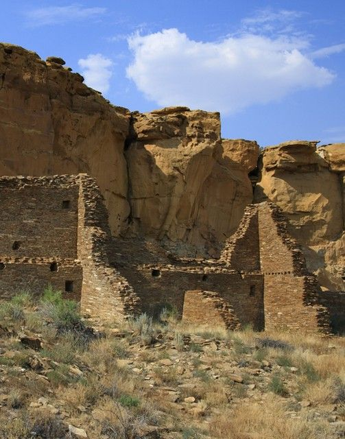 The ruins located in Chaco Canyon Nat'l Park in New Mexico...giant petroglyphs on the canyon walls, Indian ruins, and gorgeous scenery.  One of my favorite places