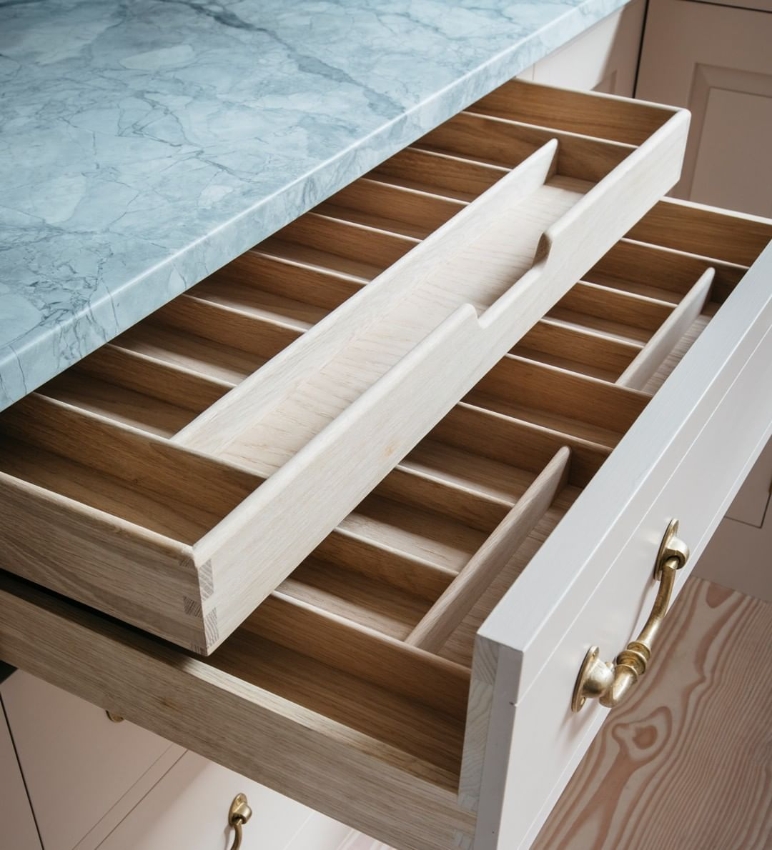 Plain English Design On Instagram Our Kitchen Drawers Are Designed Delicately Detailed And Dove Plain English Kitchen Kitchen Drawers Bespoke Kitchen Design