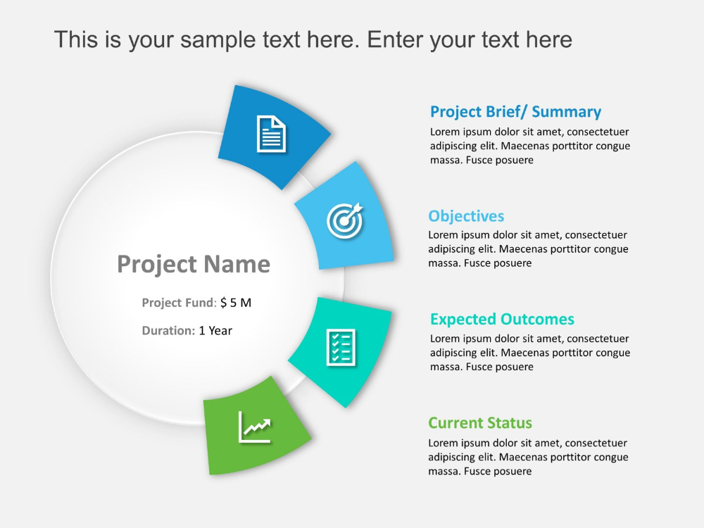 Project Brief Template Business Powerpoint Templates Free Infographic Templates Presentation