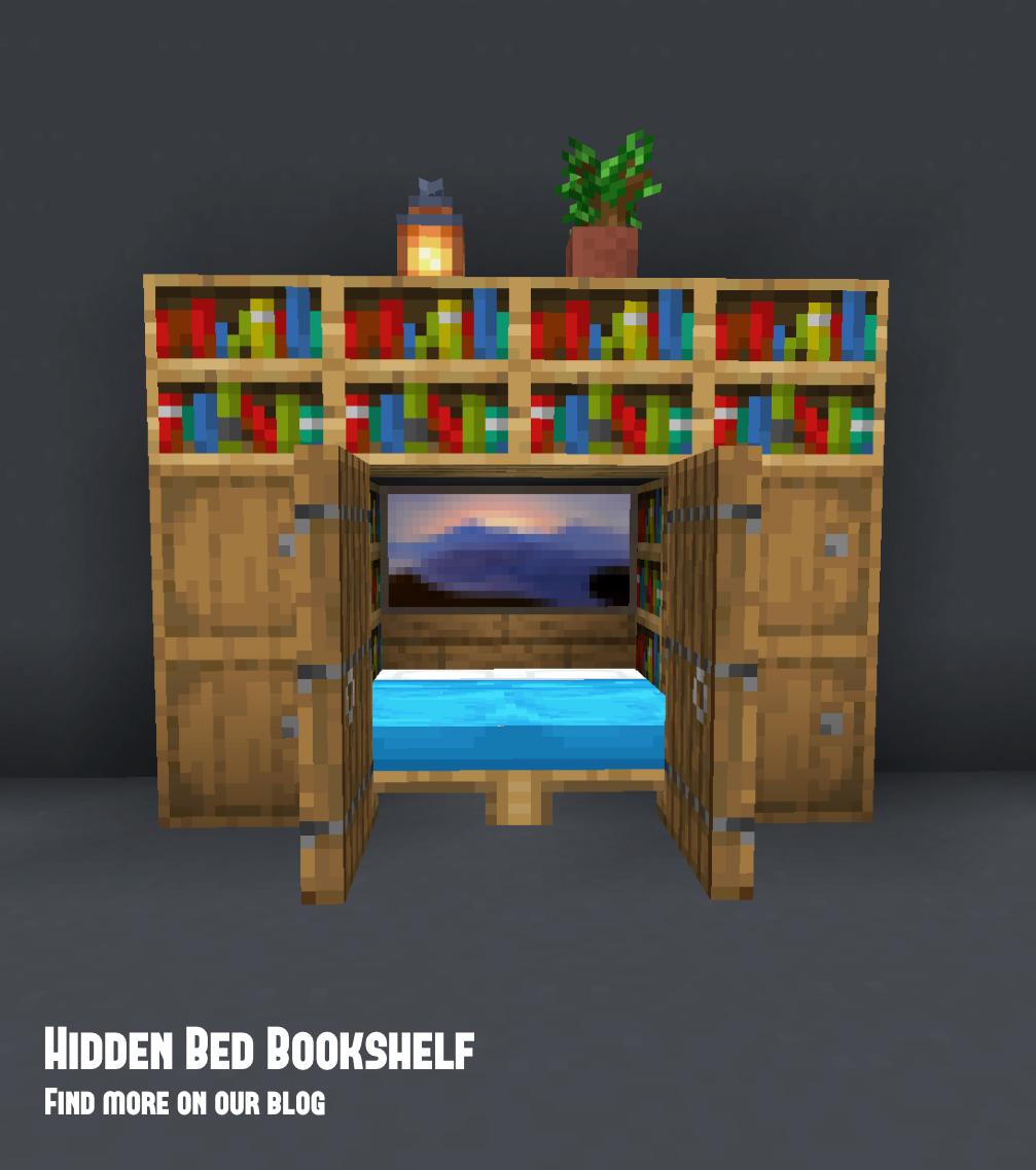 Hidden Bed Bookcase