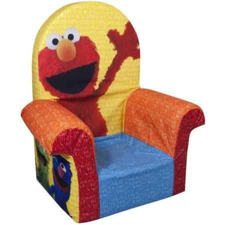 Fine Marshmallow High Back Chair Sesame Streets Elmo X Mas Ocoug Best Dining Table And Chair Ideas Images Ocougorg