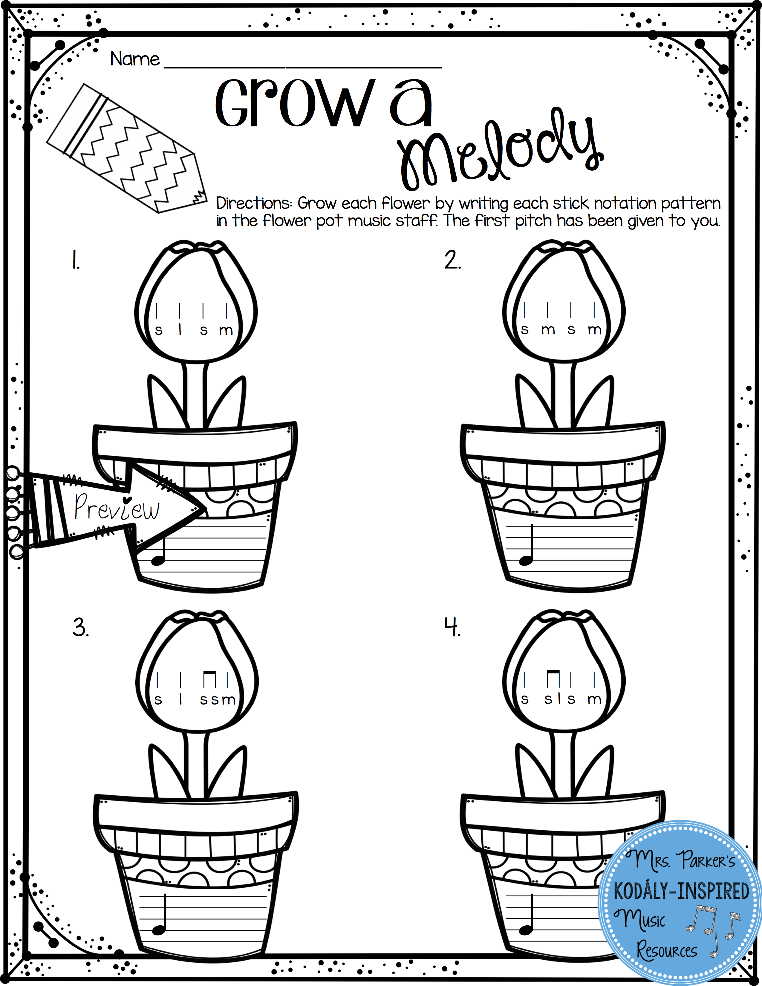 worksheet Music Solfege Worksheets spring rhythm and melody worksheets students music grow a worksheet from the