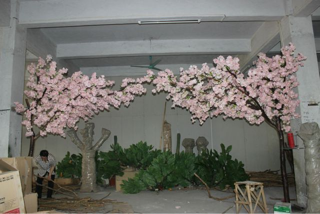 Source Indoor Decoration 2 5m Height Pink Floating Cherry Blossom Tree Fake Cherry Tree For W Indoor Wedding Decorations Fun Wedding Decor Blossom Tree Wedding